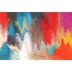 Marmont Hill Radiant Color by Irena Orlov Graphic Art on Wrapped Canvas