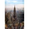 Marmont Hill Empire State Graphic Art on Wrapped Canvas