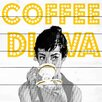 Marmont Hill Coffee Diva Vintage Advertisement Plaque