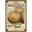 Marmont Hill Seed Packet Potatoes Vintage Advertisement on Wrapped Canvas
