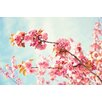 Marmont Hill Flower Heaven by Sylvia Cook Photographic Print on Wrapped Canvas