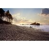 Marmont Hill Sunset Beach Walk by Sylvia Cook Photographic Print on Wrapped Canvas