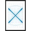Marmont Hill X Marks the Spot Framed Graphic Art