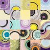 Marmont Hill Disconnected Circles Graphic Art on Wrapped Canvas