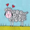 """Marmont Hill """"Sheep"""" Painting Print on Wrapped Canvas"""