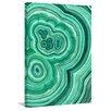 Marmont Hill Malachite Graphic Art on Wrapped Canvas