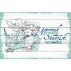 "Marmont Hill ""Mermaid Kisses 2"" Graphic Art"