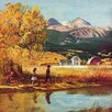Marmont Hill Colorado Creek Painting Print on Wrapped Canvas