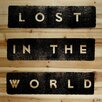 Marmont Hill 'Lost in the World' Textual Art