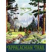"""Marmont Hill """"Travel Appalachian Trail"""" Graphic Art on Wrapped Canvas"""