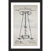 "Marmont Hill ""Tesla Coil 1914 Old Paper"" by Steve King Framed Graphic Art"