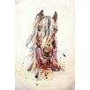 "Marmont Hill ""Cheval Sepia 1"" by Marie-Eve Pharand Painting Print on Wrapped Canvas"