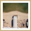 Marmont Hill 'Beach Pavillion' by Karolis Janulis Framed Photographic Print