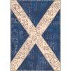Trinity Creations Flags Innenteppich in Blau/Beige