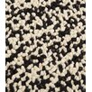 Trinity Creations Pixels Black / White Area Rug