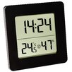 Green Wash Digital Thermometer and Hygrometer
