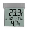 Green Wash Vision Digital Window Thermo - Hygrometer