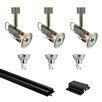 Jesco Lighting Mini Deco Series 3 Light Low Track Light Kit