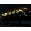 "Handcrafted Nautical Decor RMS Britannic 40"" Limited Model Cruise Ship with LED Lights"