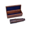 Handcrafted Nautical Decor Deluxe Class Admirals Spyglass Refracting Telescope with Rosewood Box