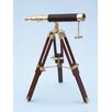 Handcrafted Nautical Decor Floor Standing Harbor Master Decorative Telescope