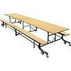 Palmer Hamilton Rectangular Cafeteria Table