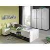 Vipack Nixon 4 Piece Bedroom Set