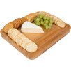 Trademark Innovations Bamboo Cheese Cheese Tray