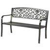 Trademark Innovations Steel Garden Bench
