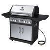 Dyna-Glo 79,000 BTU 5-Burner Natural Gas Grill with Side Burner and Rotisserie Burner