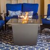 Firetainment Alfresco Tuscany Meatl/Granite Gas Table Top Fireplace