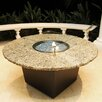 Firetainment Alfresco Naples Metal/Granite Gas Table Top Fireplace