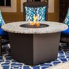 Firetainment Alfresco Riviera Metal/Granite Gas Table Top Fireplace