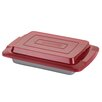 Cake Boss Deluxe Nonstick Bakeware Covered Cake Pan