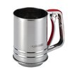 Cake Boss 3 Cup Stainless Steel Tools and Gadgets Flour Sifter