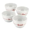 Cake Boss Bistro 4 Piece Melamine Prep Bowl Set