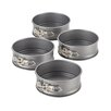 Cake Boss Novelty 4 Piece Mini Springform Pan Set