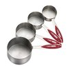 Cake Boss 4 Piece Stainless Steel Measuring Cup Set