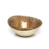 Badash Crystal Snakeskin Oval Bowl