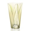 "Badash Crystal Evergreen 8"" Square Vase"