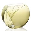 "Badash Crystal Evergreen 9"" European Design Vase"