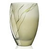 "Badash Crystal Evergreen 12"" European Design Vase"