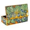Badash Crystal Iris Eglomise Box