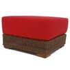 ElanaMar Designs Santa Barbara Ottoman with Cushion