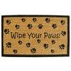 Creative Accents SuperScraper Wipe Your Paws Doormat