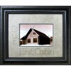 The James Lawrence Company Our First Cabin Frame Photographic Print