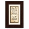 The James Lawrence Company 'My Mom' Framed Textual Art