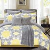 C.H.D Home The La Salle Sunrise 8 Piece Comforter Set