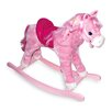 small foot Pinky Rocking Horse