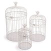 small foot 3-Pice Decorative Birdcage Set